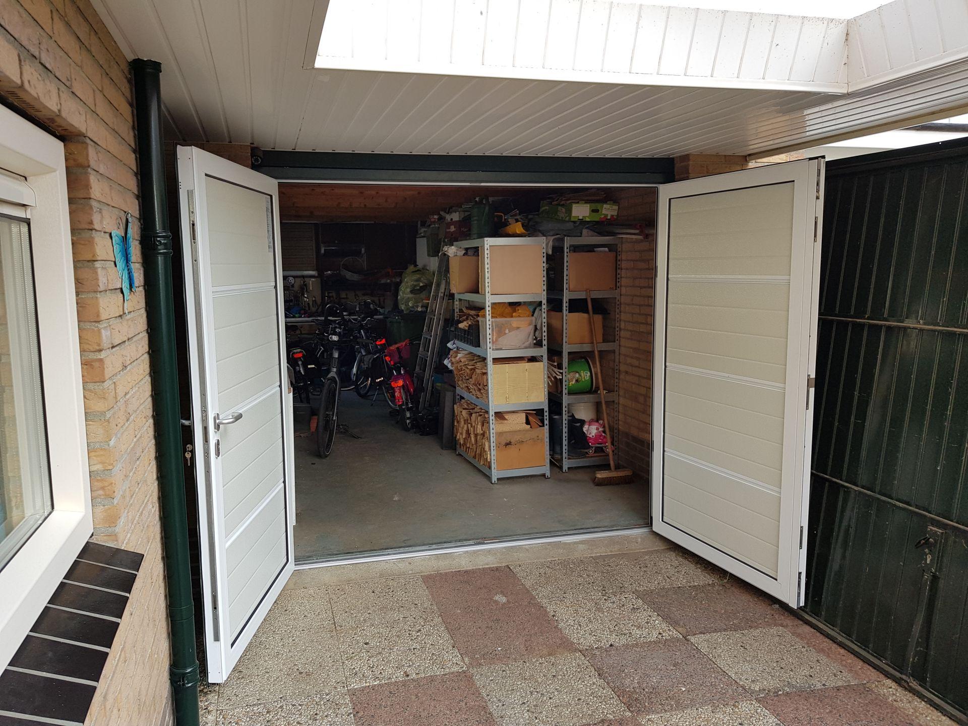 Duoport garagedeur te Wierden