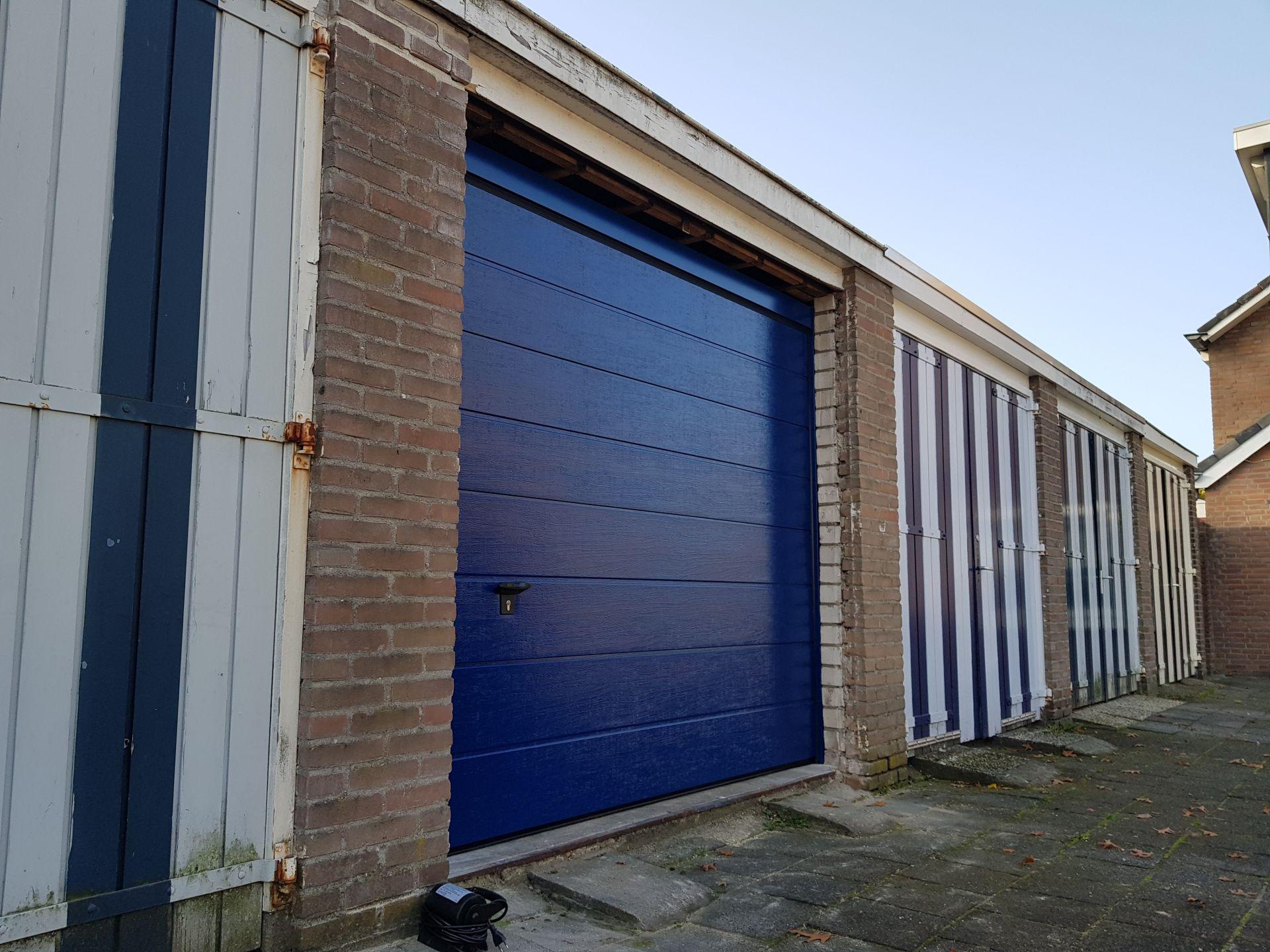 Garagedeur handbediend ISO20