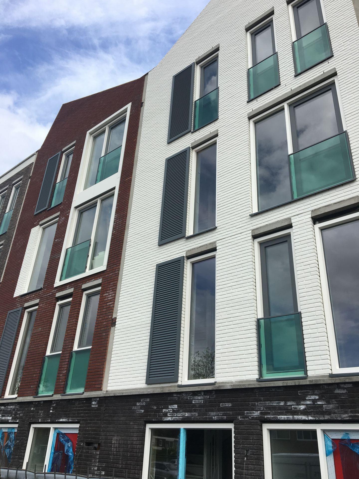 Panelen woningbouw Enschede