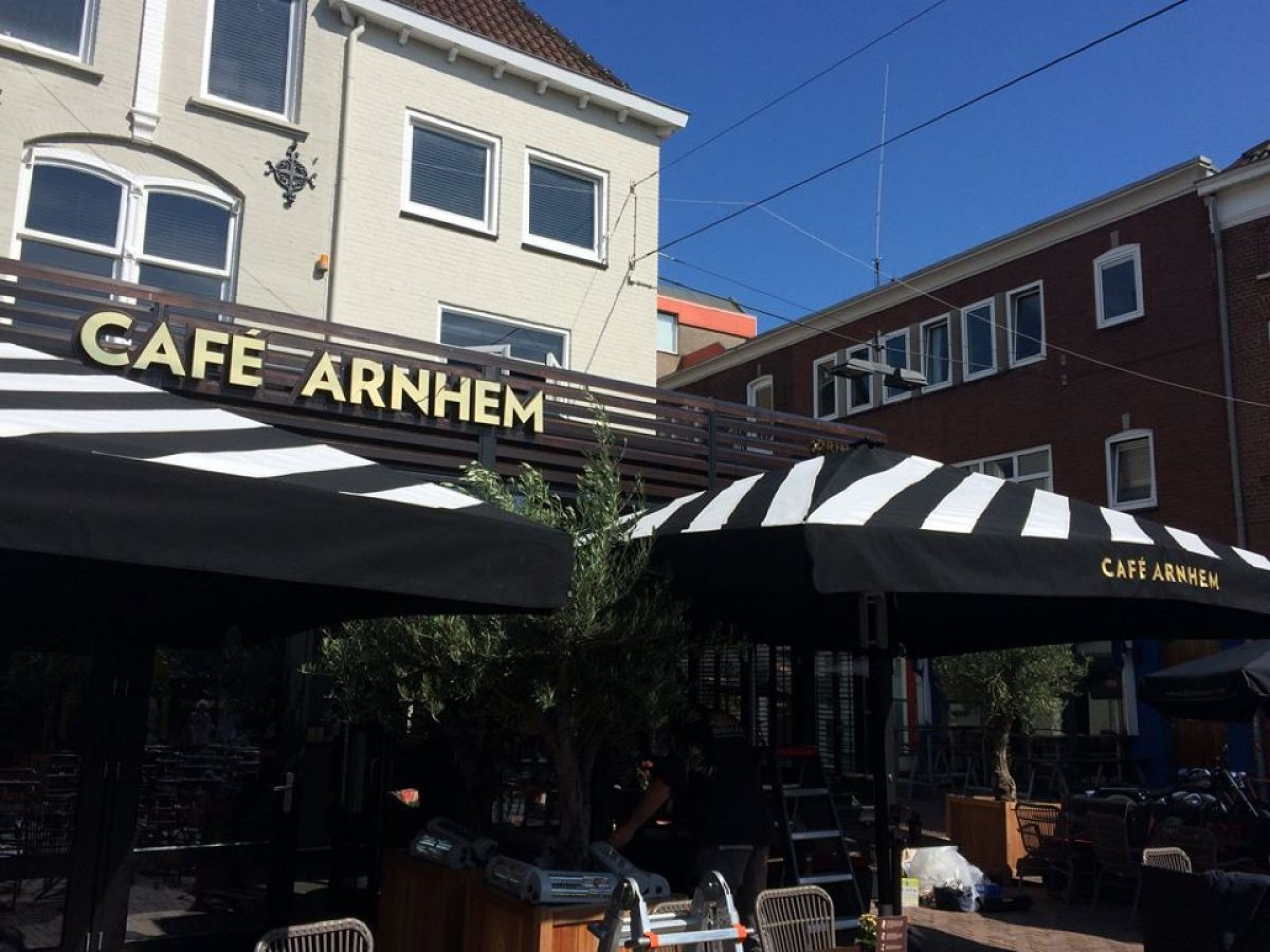 Parasols cafe Arnhem